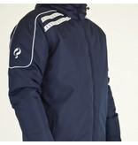 Q1905 Heren Coachjas De Jong Navy / Wit