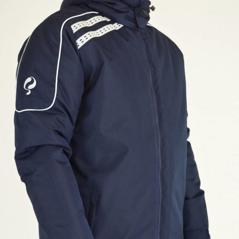 Q1905 Men's Coachjas De Jong Navy / Wit