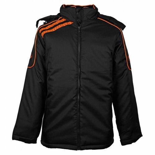 Men's Coachjas De Jong Zwart / Oranje