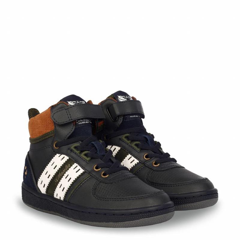 Kids Sneaker Atlanta JR Lace Deep Navy / Cloud Dancer (36-39)