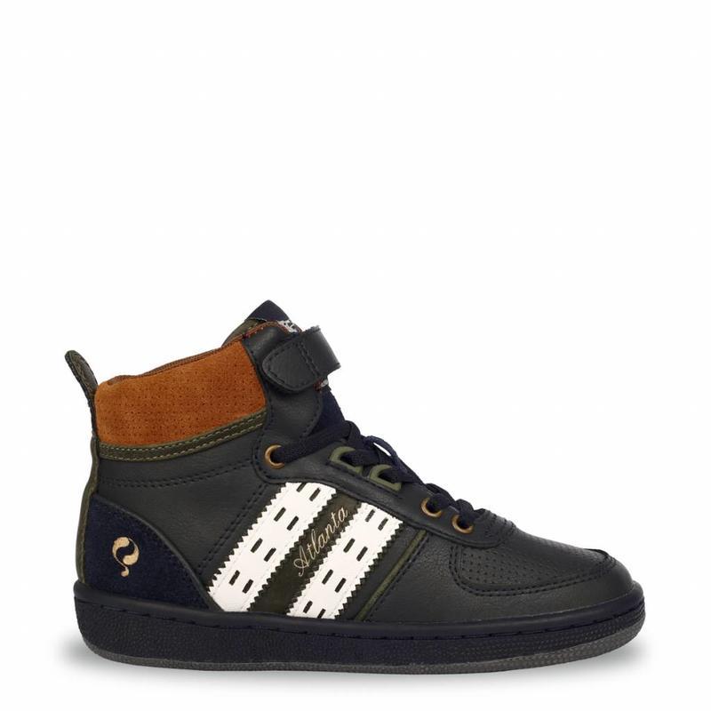 Q1905 Kids Sneaker Atlanta JR Lace Deep Navy / Cloud Dancer (26-35)
