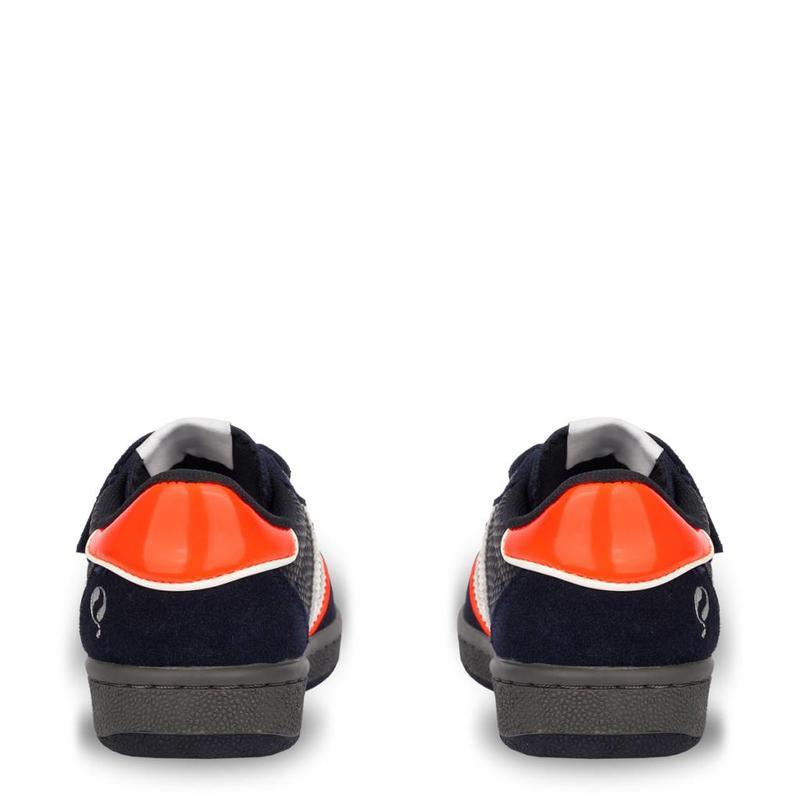 Q1905 Kids Sneaker Maurissen JR Velcro Deep Navy / White (36-39)