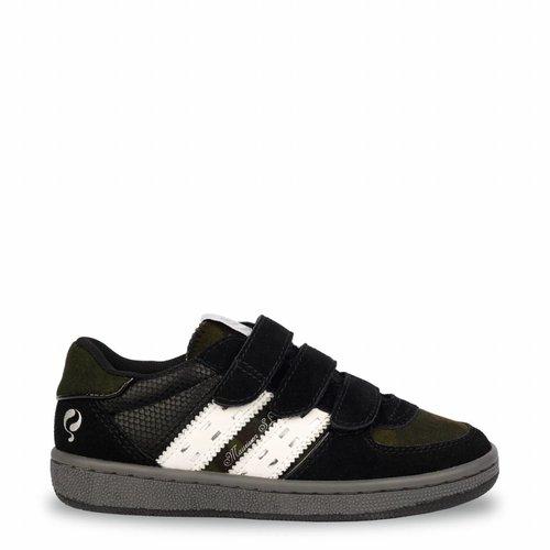 Kids Sneaker Maurissen JR Velcro Black / White (26-35)