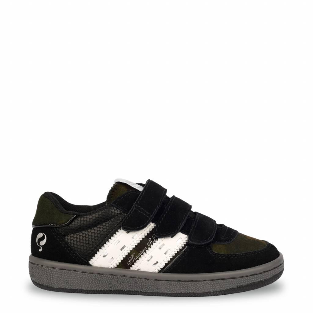 Q1905 Kids Sneaker Maurissen JR Velcro Black - White (26-35)