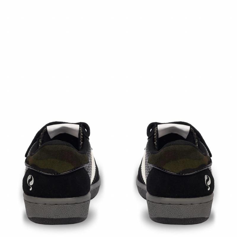Q1905 Kids Sneaker Maurissen JR Velcro Black / White (26-35)