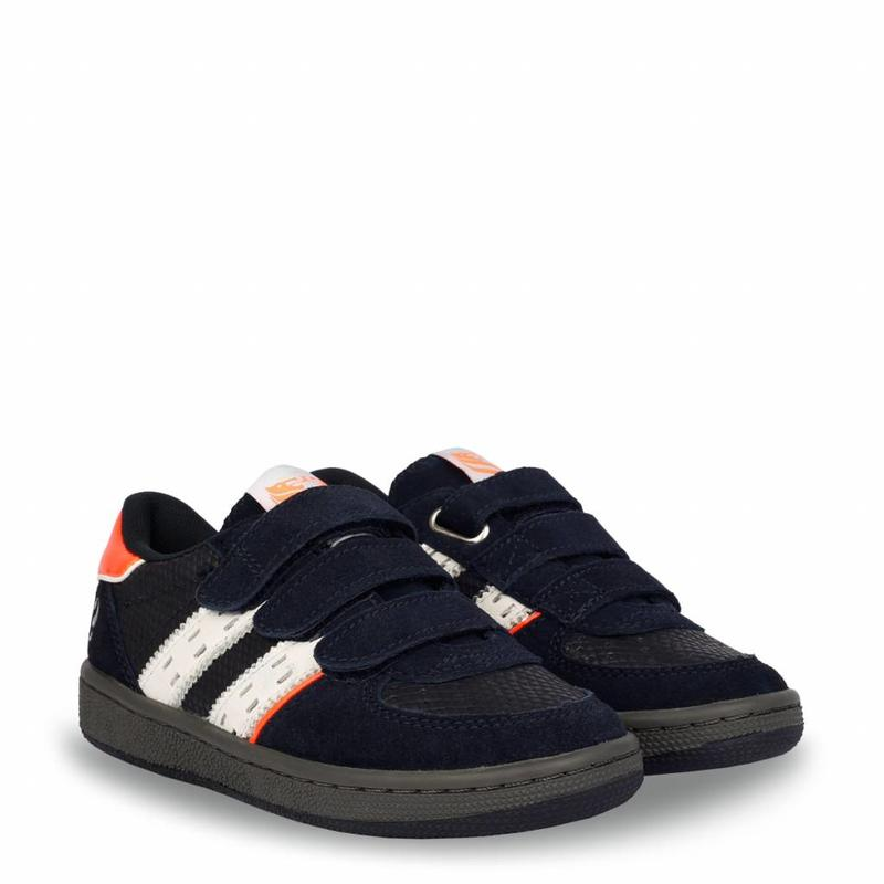 Kids Sneaker Maurissen JR Velcro Deep Navy / White (26-35)