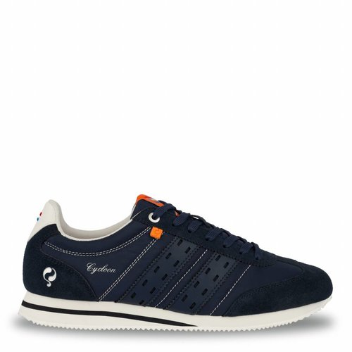 Heren Sneaker Cycloon Deep Navy / Cloud Dancer