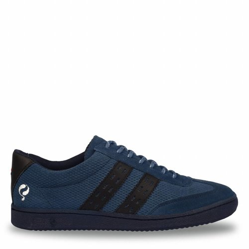 Heren Sneaker Legend'69 Jeans Blue / Deep Navy