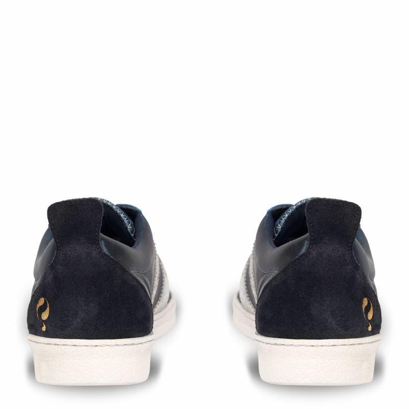 Heren Sneaker Medal Deep Navy / Cloud Dancer