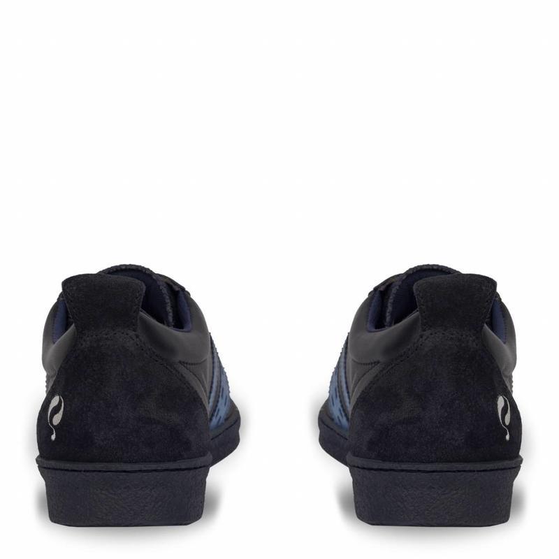 Q1905 Heren Sneaker Medal Deep Navy / Jeans Blue