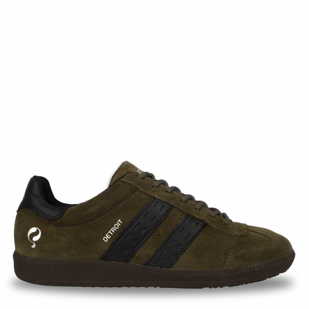 Image of Heren Sneaker Detroit Army Green / Black