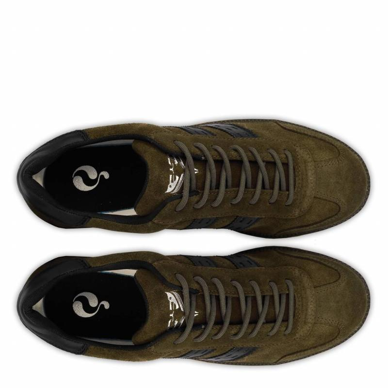 Heren Sneaker Detroit Army Green / Black