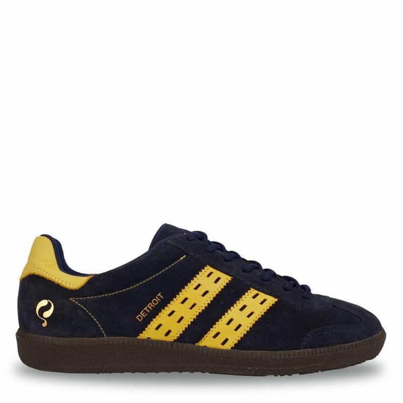 Men's Sneaker Detroit Deep Navy / Ochre Yellow