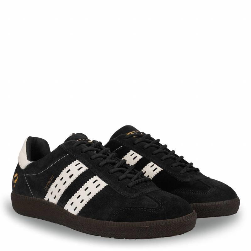 Q1905 Men's Sneaker Detroit Black / White