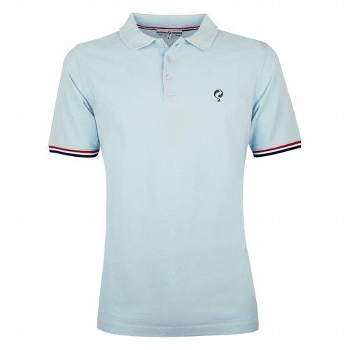 Men's Polo Shirt Bloemendaal Skyway Blue - Deep Navy / Lt Blue