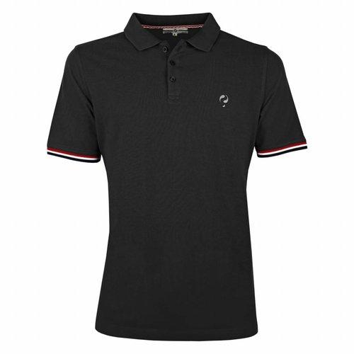 Men's Polo Shirt Bloemendaal Black - Silver / Black