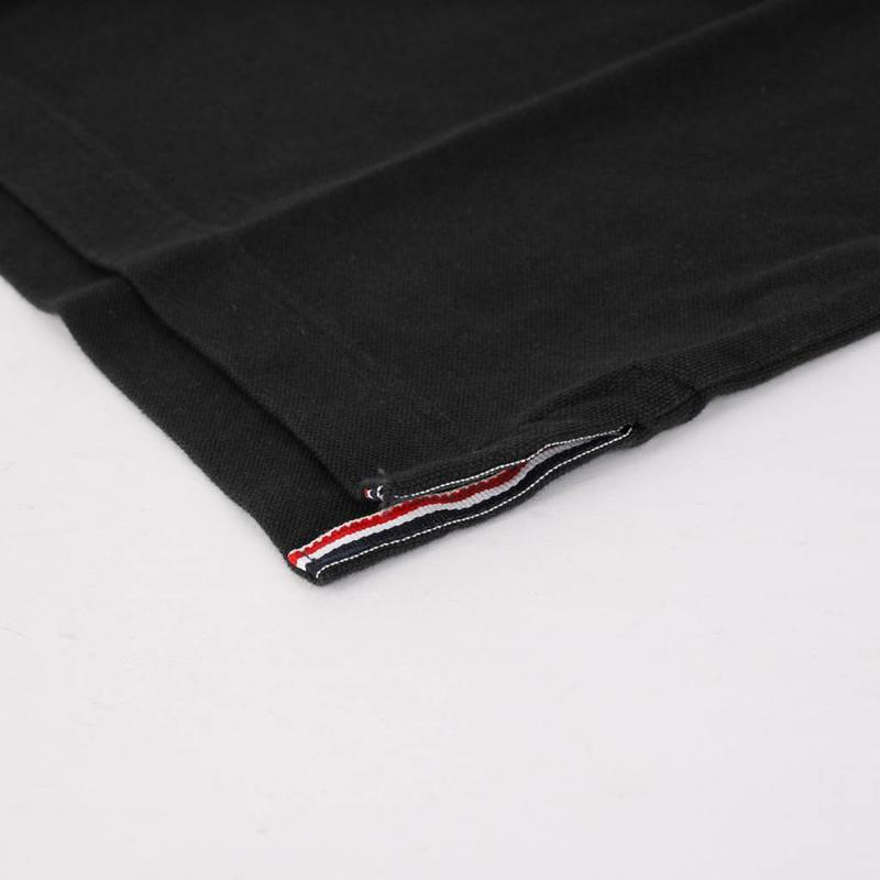 Heren Polo Bloemendaal Black - Silver / Black