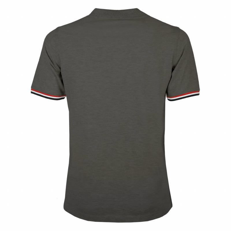 Q1905 Men's Polo Shirt Bloemendaal Dk Grey - Silver / Dk Grey