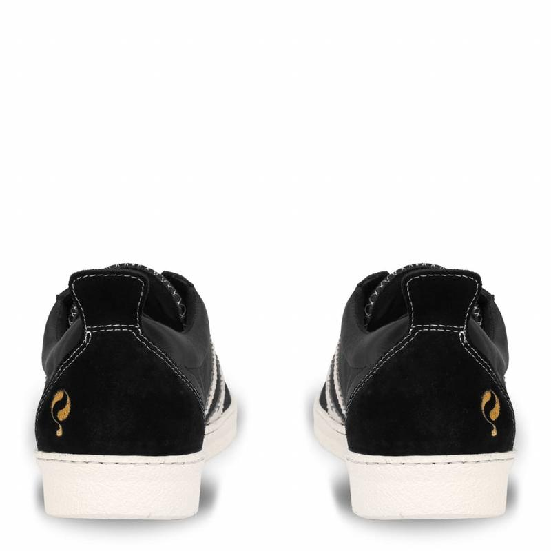 Q1905 Men's Sneaker Medal Black / Cloud Dancer