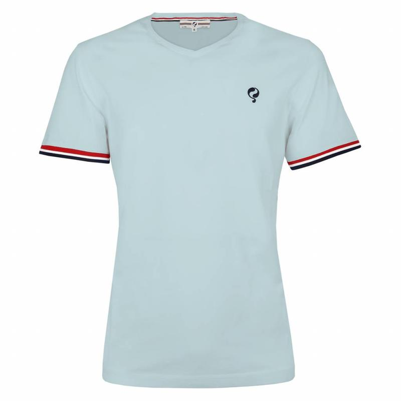 Heren T-shirt Zandvoort Skyway Blue