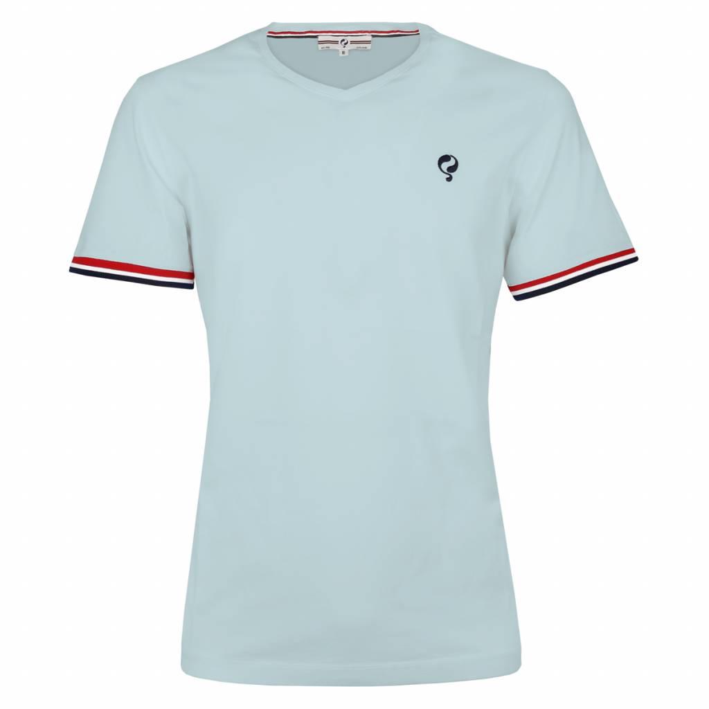 Q1905 Heren T-shirt Zandvoort Skyway Blue