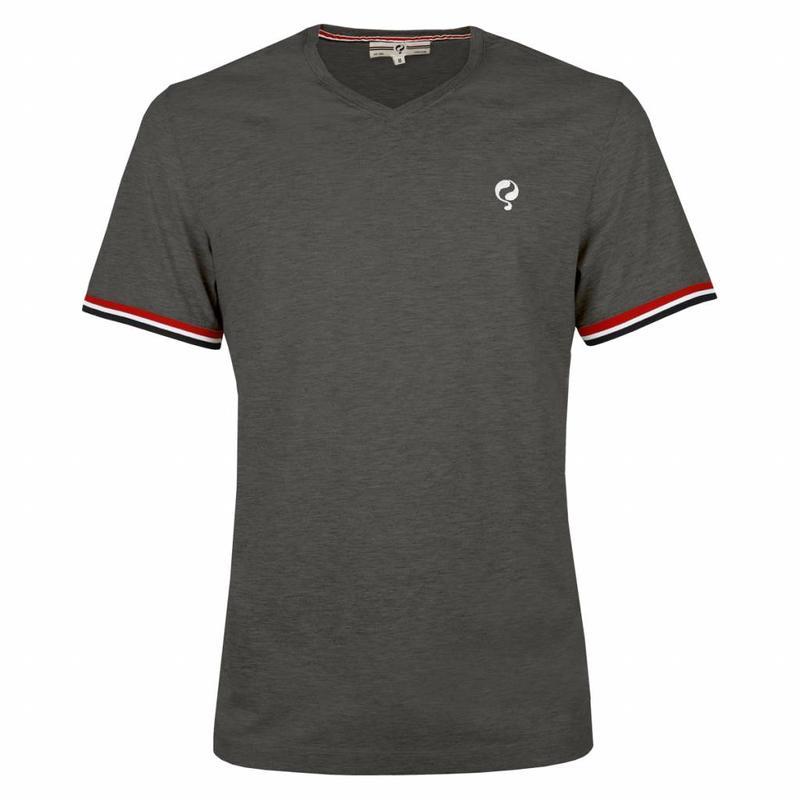 Q1905 Men's T-shirt Zandvoort DK Grey Melee
