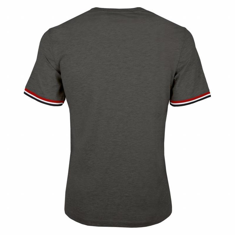 Q1905 Heren T-shirt Zandvoort DK Grey Melee