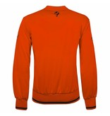 Q1905 Heren Sweater Kruys Oranje / Zwart