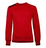 Heren Sweater Kruys Rood / Zwart