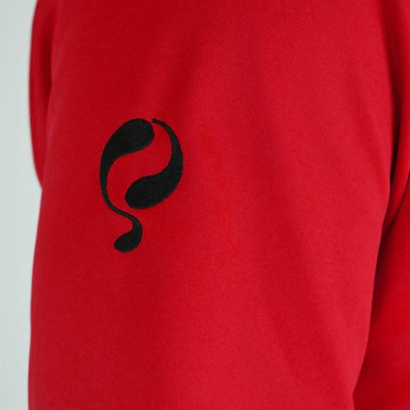 Q1905 Men's Sweater Kruys Rood / Zwart