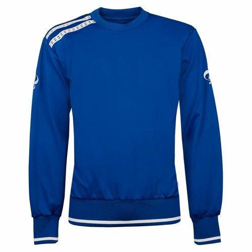 Heren Sweater Kruys Blauw / Wit