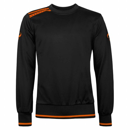 Men's Sweater Kruys Zwart / Oranje