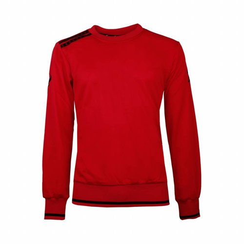 Kids Sweater Kruys Rood / Zwart