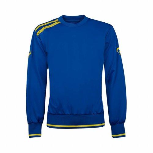 Kids Sweater Kruys Blauw / Geel