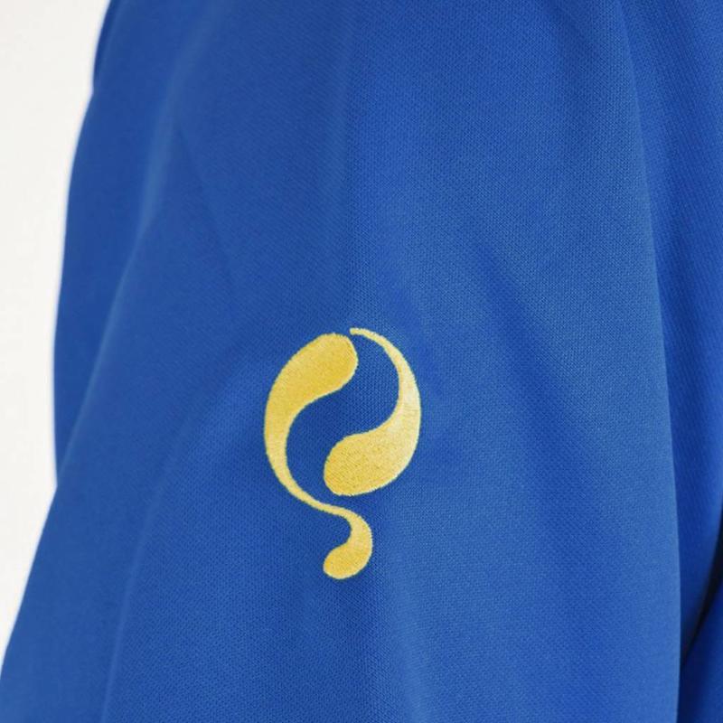 Q1905 Kids Sweater Kruys Blauw / Geel