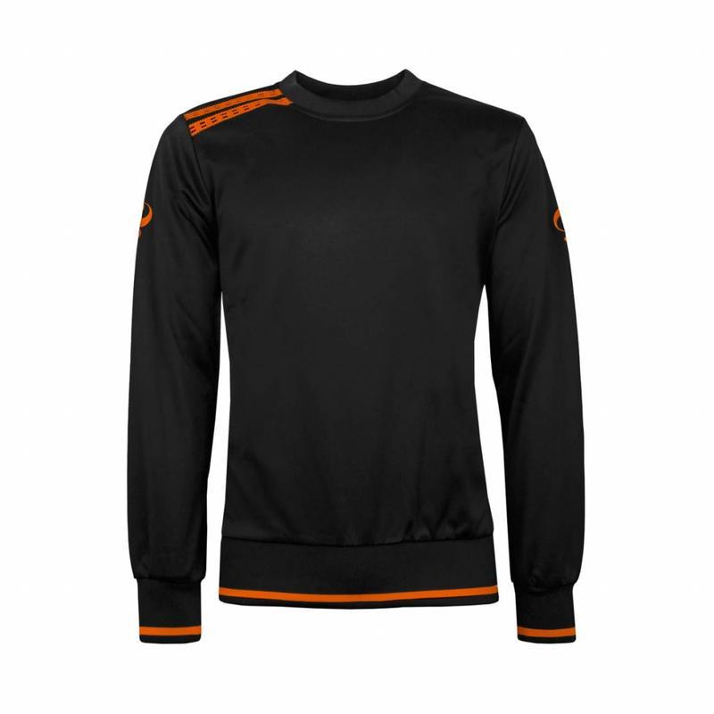 Kids Sweater Kruys Zwart / Oranje