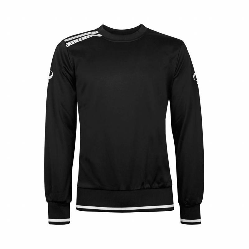 Q1905 Kids Sweater Kruys Zwart / Wit