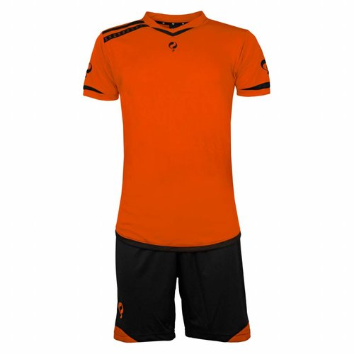 Heren Trainingsset Haller Oranje / Zwart