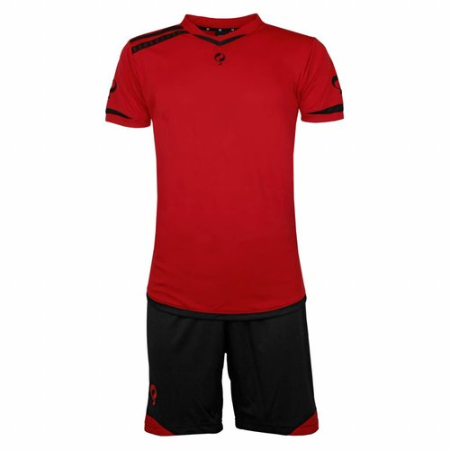 Heren Trainingsset Haller Rood / Zwart