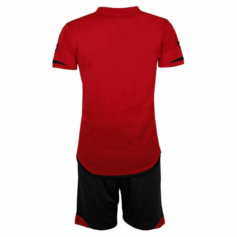 Heren Trainingsset Haller Rood / Zwart
