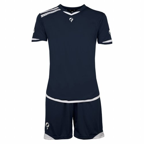Heren Trainingsset Haller Navy / Wit