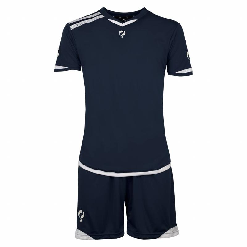 Q1905 Heren Trainingsset Haller Navy / Wit