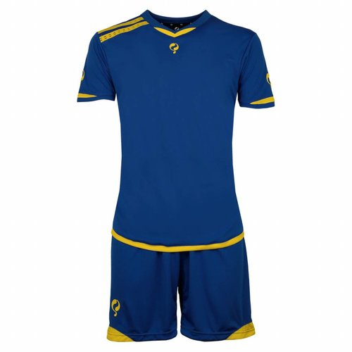Men's Trainingsset Haller Blauw / Geel
