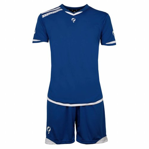 Heren Trainingsset Haller Blauw / Wit