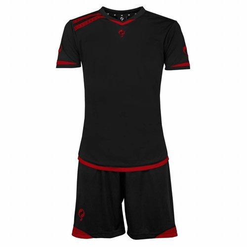 Men's Trainingsset Haller Zwart / Rood
