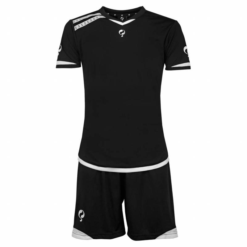 Q1905 Men's Trainingsset Haller Zwart / Wit