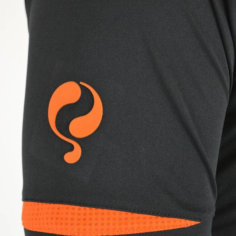 Q1905 Kids Trainingsset Haller Zwart / Oranje
