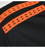 Q1905 Heren Trainingsset Haller Zwart / Oranje