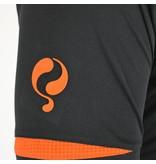 Q1905 Men's Trainingsset Haller Zwart / Oranje