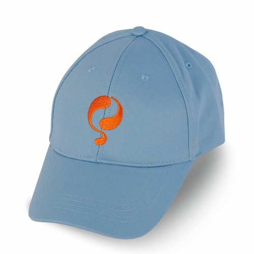 Q Cap Lt Azul / Orange